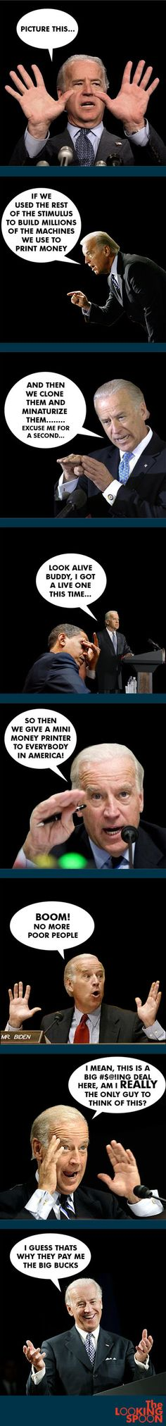 Biden solves the war on poverty
