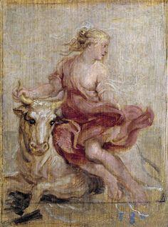 .:. El rapto de Europa by Peter Paul Rubens, 1636