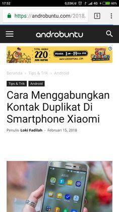 Cara menggabungkan kontak duplikat di smartphone android xiaomi. Baca selengkapnya di androbuntu.com.