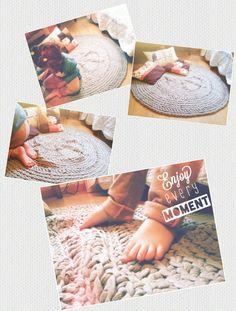 Para las aficionadas al crochet,en primavera a tejer con trapillo!