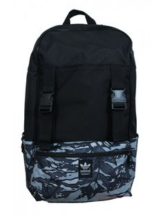 d04d1b9649d2 adidas Block Graphic Backpack in Black - Northern Threads Black Backpack