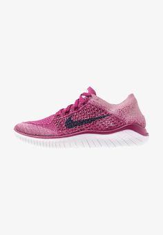 FREE RN FLYKNIT 2018 - Løbesko - active fuchsia laser fuchsia psychic  pink metallic silver black. Nike Performance ... 075239bd8