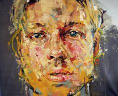 """Saatchi Art Artist Andrew Salgado; Painting, """"SUBJECT"""" #art"""