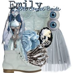 """The Corpse Bride """"Emily"""" Inspired Fashion Disney Bound Outfits Casual, Disney Princess Outfits, Disney Themed Outfits, Disney Dresses, Casual Cosplay, Cosplay Outfits, Disney Mode, Corpse Bride Costume, Disneybound Outfits"""
