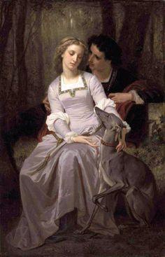Tristan and Isolde. Hugues Merle