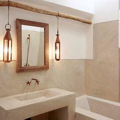 """99 gilla-markeringar, 4 kommentarer - El Ramla Hamra (@elramlahamranl) på Instagram: """"Friday night inspo. In love with this simplistic yet gorgeous tadelakt bathroom ♡ repost from…"""""""