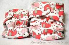 Make Your Own Cloth Diapers! Newborn pattern!