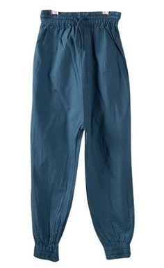 Blue Baggy Pants from Bobo Choses at Kidsen