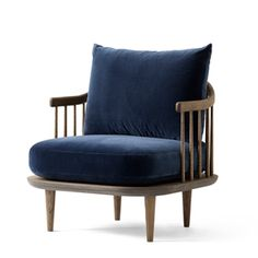 Lænestol &Tradition - Fly Chair SC10 - smoked olied / Harald
