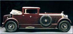 Hispano-Suiza H6B Coupé Landaulet Million-Guiet (1929)