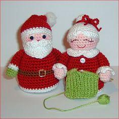 Santa y Mrs Claus