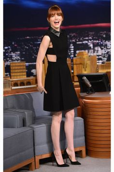 What:  Gucci Where: The Tonight Show with Jimmy Fallon   - HarpersBAZAAR.com