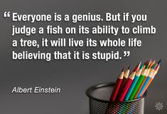 Everyone is a genius..