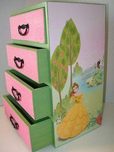 DISNEY PRINCESS Jewelry Box - 2nd Edition of Disney Princess Collection on Etsy, £30.21