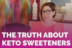 Sweet tooth fairy paid you an unexpected visit while on the keto diet? I've got you covered. Ditch the antagonistic artificial sweeteners for some kind, keto-friendly alternatives. A sweet briefing on