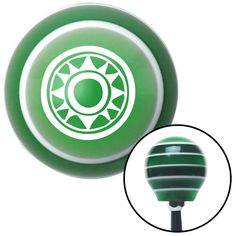 White Hawaiian Sun 2 Green Stripe Shift Knob with M16 x 15 Insert - Give your interior the ultimate look. American Shifter's Elite(TM) series shift knobs are made from the highest quality components resulting in a superior feel on every shift. Each shift knob is designed and customized in the USA by skilled shift knob artisans who have a trained eye on every detail. American Shifters shift knobs offers an exclusive aluminum threaded insert designed to be screwed onto your shift arm. You…