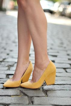 35 #Pairs of Yellow #Shoes That Will Make You Smile ...