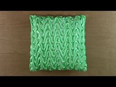 Decorate your home with these easy, do-it-yourself DIY Decorating idea that add fun touches to every home. Pillow Cover Design, Pillow Covers, Canadian Smocking, Smocking Tutorial, Fabric Manipulation, Needle And Thread, Decorating Your Home, Needlework, Diy And Crafts
