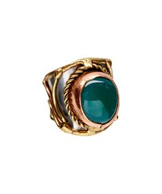 Another great find on #zulily! Onyx & Tri-Tone Lalita Cuff Ring #zulilyfinds