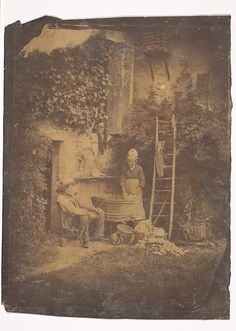 The Laundry Louis-Adolphe Humbert de Molard (French, Paris 1800–1874) Date: 1840s Medium: Salted paper print