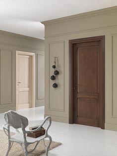 FBP porte | Collezione EVA - Mod. Eva2 - Essenza: abete e rovere #fbp #porte #legno #door #wood #fir #oak