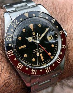 Grail watch the Gmt 6542 Rolex Vintage, Vintage Watches, Cool Watches, Rolex Watches, Watches For Men, Gents Fashion, Mens Fashion Suits, Tag Heuer, Rolex Tudor
