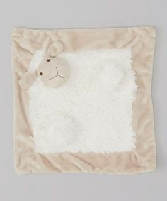 Look what I found on #zulily! Gray & White Allie Sheep Lovey by Mon Ami #zulilyfinds