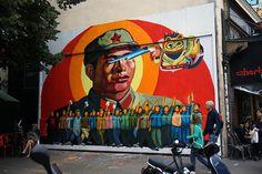 Grafite surrealista do argentino Ever. #StreetArt #Graffiti