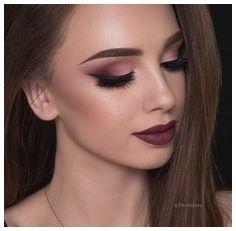 Maquillaje Para Vestido Granate Tendencias De Estilo En