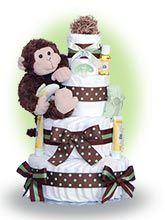 Diaper cakes are super cute and super fun to make.