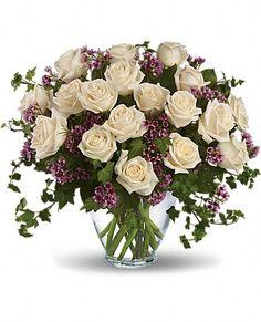 Victorian Romance - white roses