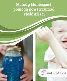 Metody #Montessori pomogą powstrzymać #złość dzieci Zgodnie z metodami Montessori, emocje i #socjalizacja muszą iść w parze. #Rodzice odgrywają fundamentalną rolę w rozwoju dziecka. Montessori, Pre School, Water Bottle, Education, Drinks, Children, Future, Therapy, Bebe