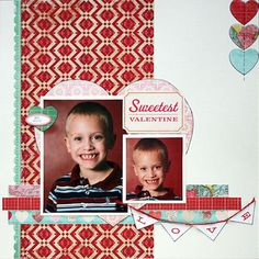 Layout: Sweetest Valentine