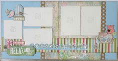 Seaside 2 page layout kit #CTMH #createwithheart