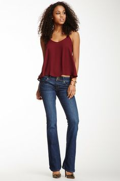 Signature Bootcut Mid Rise Jean by HUDSON on @HauteLook