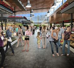 Fresh Food Market Hall - Internal