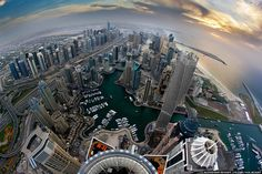 Stunning Dubai Photos from Above