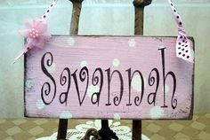 baby name sign | Flickr - Photo Sharing!