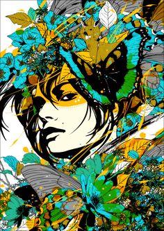 Les magnifiques illustrations de Marumiyan.