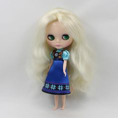 """sale Takara 12""""Blythe Doll Factory Outfit cute dress 1 pcs free shipping limited in Dolls & Bears, Dolls, By Brand, Company, Character 