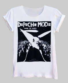 Depeche Mode Touring The Angel Fine Jersey Unisex T-Shirt