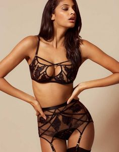 Corsets & Basques by Agent Provocateur - Demelza Bra