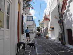 Mykonos, Greece.  This was one of my favorite places in Greece!  I hope to return someday.