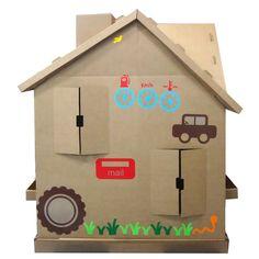 Big Toy Casa Adesivada Meninos