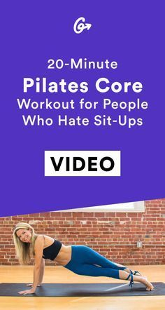 The Killer Pilates Sequence for a Crazy-Strong Core A strong core is the foundation for almost every exercise, so give your abs some extra attention with this quick but killer Pilates workout. Pilates Workout Routine, Pilates Training, Abs Workout Video, Best Ab Workout, Yoga Routine, Workout Plans, Pilates Video, Yoga Pilates, Pilates For Beginners