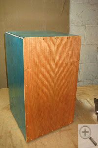 front-drum-small - How to Build a Cajon Drum build for grandson