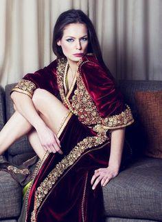 Caftan et djellaba de Maroc: amal belcaid haute couture