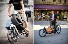 Messenger V2 Cargo bike by Douze Cycles