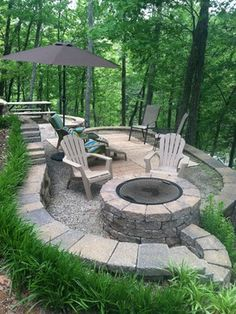 Landscaping Perfect for the cabin❤