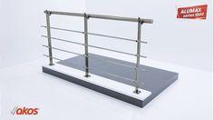 Akos - Alumax S100 Series Aluminium Railing Installation